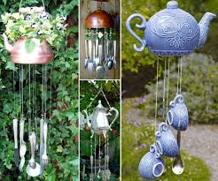 how to make a teapot wind chime for your home silver spoons tea