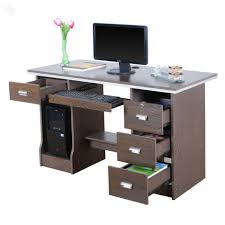 Office Desk Small by Ergonomic Solid Wood Office Tables Appealing Wooden Computer Desk