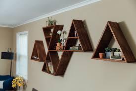 Triangle Shaped Bookcase Triangle Shelves U2013 Frugal Freehand