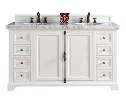 white double sink bathroom vanity home