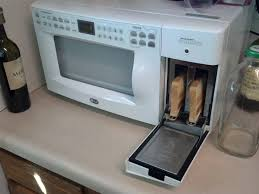 Toaster With Egg Maker The Microwave In My New Apartment Has A Toaster Built Into It
