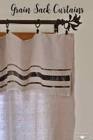 Kitchen Curtains Design by Best 25 No Sew Curtains Ideas On Pinterest Diy Curtains Easy