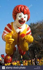 november 27 2008 the ronald mcdonald balloon the macy s stock