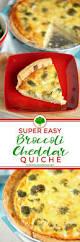 easy broccoli quiche recipe u2022 food folks and fun