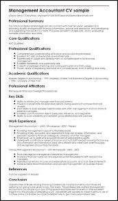 Accountant Resume Template by Management Accountant Resume Sle Accounting Resume