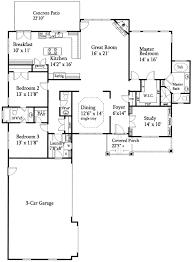 floor plans for ranch houses open floor plan ranch plans home deco plans