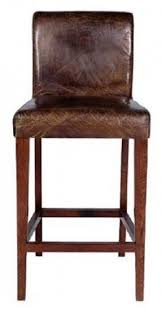 Barnwood Bar Stools Leather Rustic Bar Stools Foter
