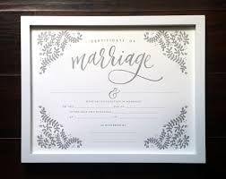 letterpress marriage certificate u2013 printable wisdom