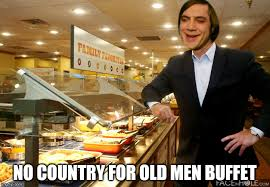 Tommy Lee Jones Meme - no country for old men buffet imgflip