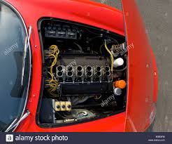 ferrari engine ferrari 275 gtb classic italian sports car v12 engine bay viewed