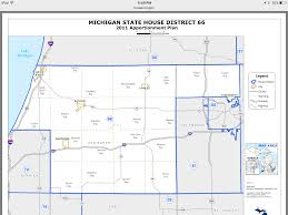 Map Of State Of Michigan by Pair Of State House Seats In Kalamazoo Area Contested In Primary