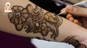 full hand indian mehndi design learn step by step viral
