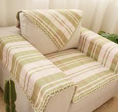 plaid coton canapé 70 cm coton canapé serviette vert plaid sectinal canapé couverture