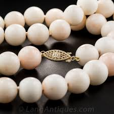 coral bead necklace images Angel skin coral bead necklace jpg