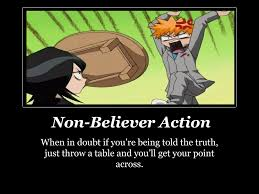 Throwing Table Meme - another bleach funny poster by shiniryuu no kaze d by leeyongfa on