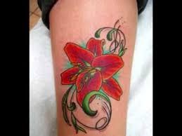 female flower tattoos floral tattoo designs youtube