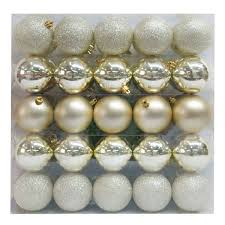 Silver And Gold Home Decor by Champagne Gold Christmas Ornaments Target Gold Christmas