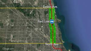 Cta Red Line Map Giant Transit Tif Unanimously Passes City Council Chicago