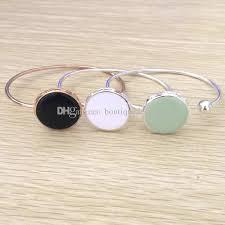 personalized bangle fashionable wholesale enamel around christmas gifts jewelry for