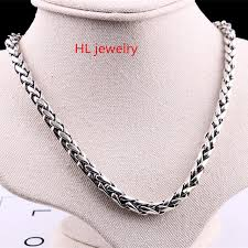 real silver necklace images 56cm free shipping wholesale 100 real pure 925 sterling silver jpg