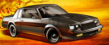 Dodge Challenger Drawing - how to draw a buick grand national step by step by darkonator