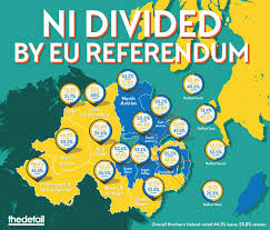 Northern Ireland Map Data Mapping Highlights Northern Ireland U0027s Divisions Ahead Of