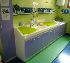 Day Care Changing Table Day Care Changing Table Green Dropittome Table Alternative To