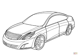 nissan gtr skyline drawing nissan intima coloring page free printable coloring pages