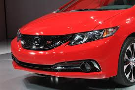 2013 honda civic updates and live photos from la auto show