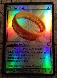 magic the gathering custom foil card the by alaskannerderysupply