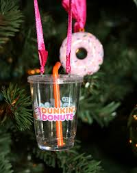 balent times friday favorites dunkin donuts ornament 2011