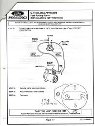 1990 ford f250 starter solenoid wiring diagram circuit and