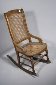 Caning A Chair A Victorian Style Pine Rocking Chair With Caned Seat Together With