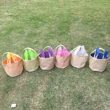 easter buckets wholesale fast shipping burlap easter wholesale bunny easter tote