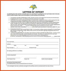 national letter of intent moa format