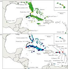 Cuban Map Origin Of Florida U0027s Invasive Frogs Biology Letters