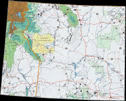 Wind Speed Map Us Forest Service R2 Rocky Mountain Region Wyoming Recreation Map