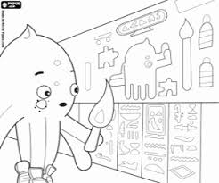 pypus coloring pages printable games