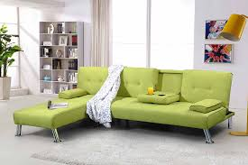 L Shaped Sofa With Chaise Lounge by New York 3 4 Seater Corner L Shaped Fabric Sofa Bed U0026 Chaise