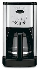 amazon com cuisinart brew central dcc 1200 12 cup programmable amazon com cuisinart brew central dcc 1200 12 cup programmable coffeemaker black silver drip coffeemakers kitchen dining