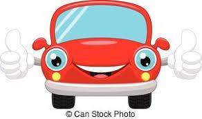 cartoon convertible car thumbs up cartoon car cartoon convertible car character vectors