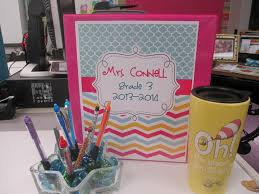 Binder Decorating Ideas Classroom Setup Three Hours And Done Scholastic