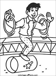 jeux et coloriages du cirque
