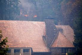 Wild Fire Columbia Gorge by The Burning Of The Columbia Gorge Is A Tragedy