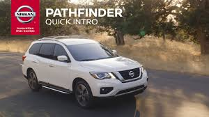 nissan pathfinder us news 2017 nissan pathfinder introduction youtube