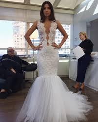 Bridal Fashion Week Wedding Dress by New York Bridal Fashion Week Show Fall 2016 New Collection Wedding