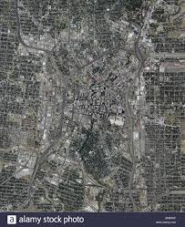 Map Of San Antonio Texas Aerial Map View Above San Antonio Texas Stock Photo Royalty Free