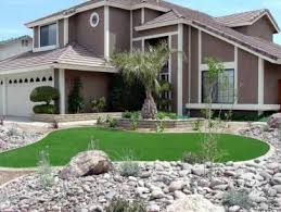 Arizona Landscape Ideas by Artificial Turf Installation Tanque Verde Arizona Landscape Rock