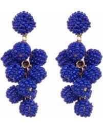 slash prices on mini beaded balls earrings