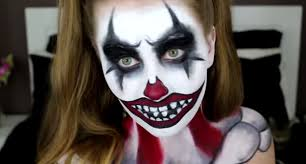 Awesome Scary Halloween Costumes Scary Halloween Clown Makeup Pictures Harrop Harrop